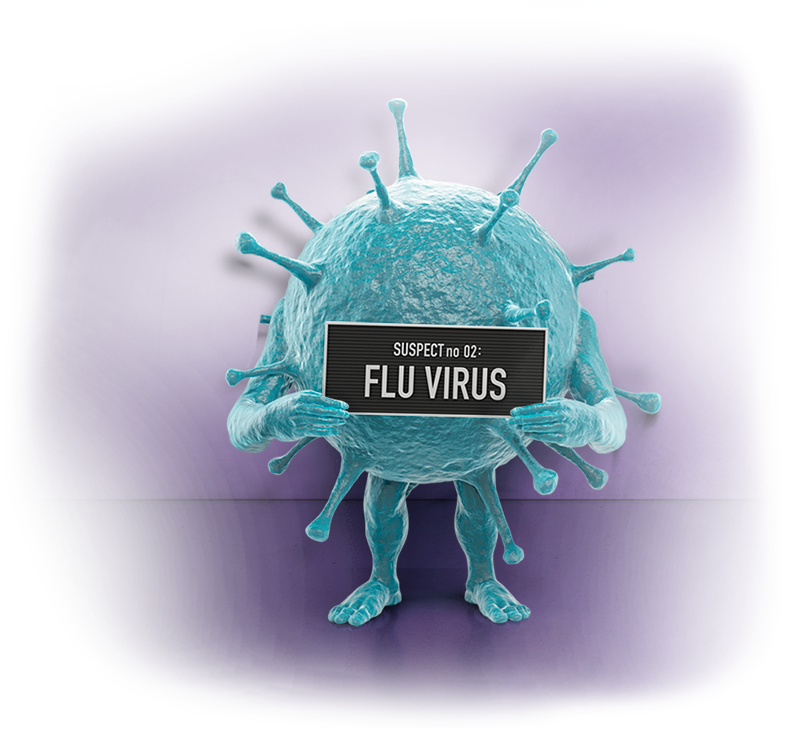 A picture of virus
